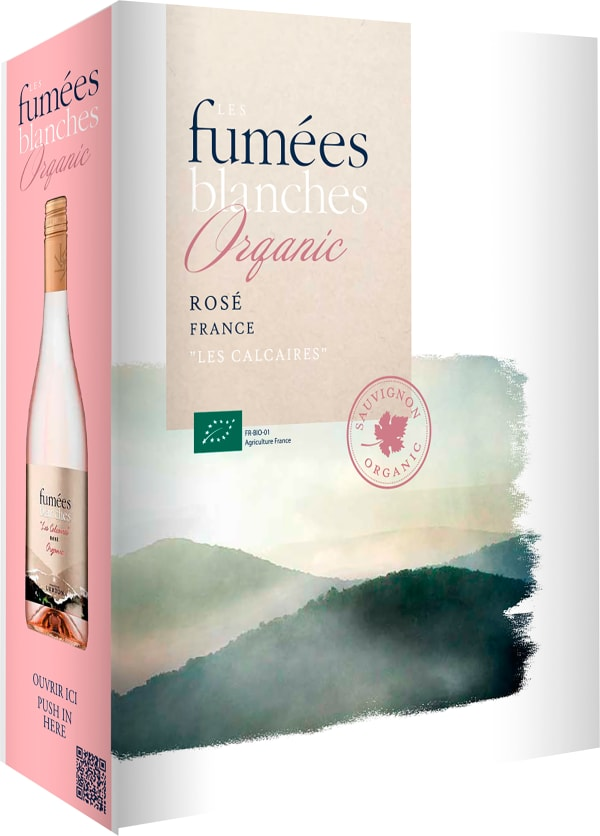 Les Fumées Blanches Vin Biologique Rosé 2019 lådvin