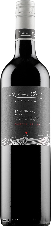 St John's Road Block 3 Old Vine Shiraz 2014