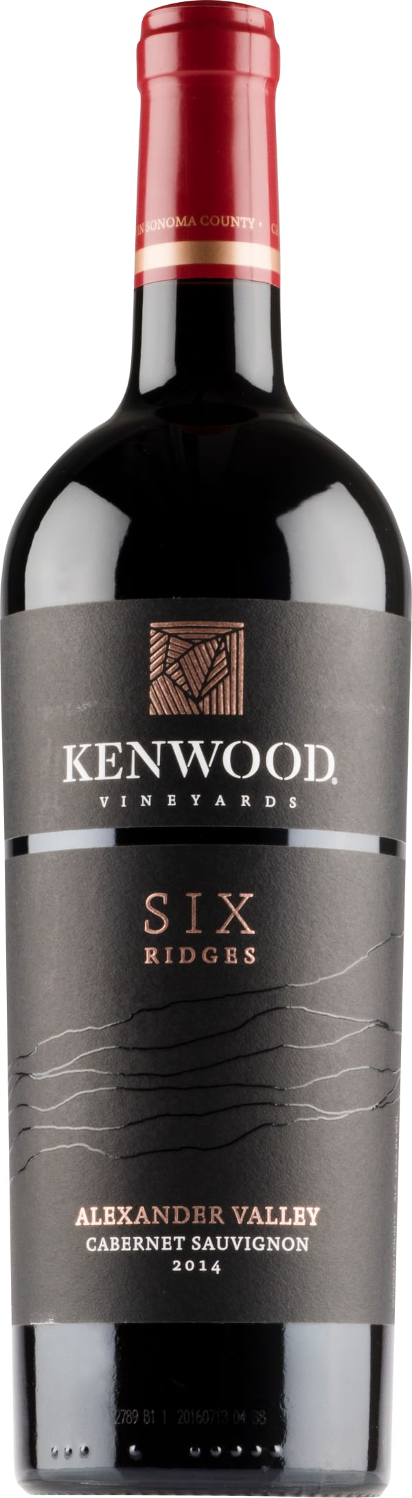 Kenwood Six Ridges Cabernet Sauvignon 2015