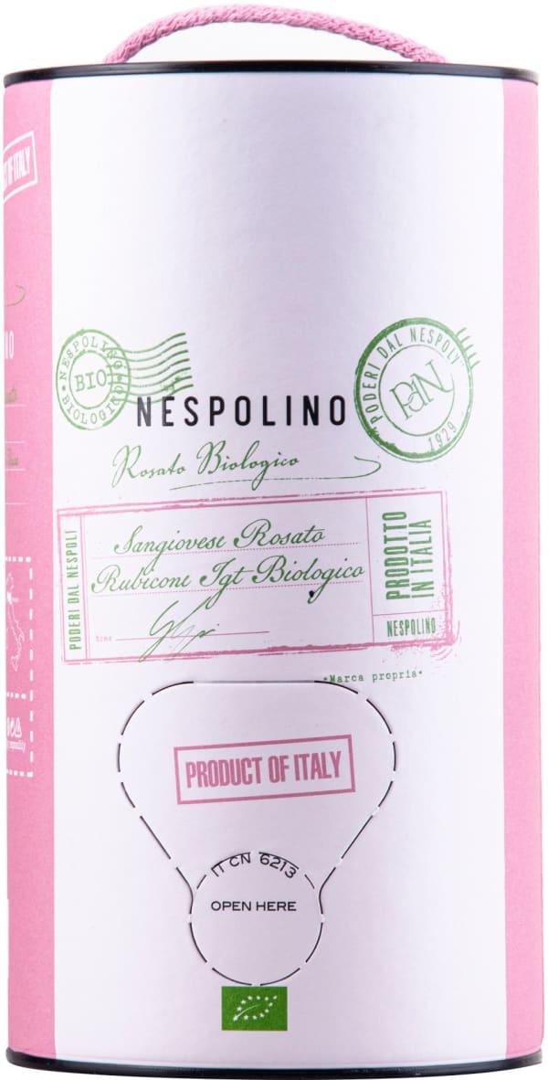 Nespolino Sangiovese Rosato Organic 2019 bag-in-box