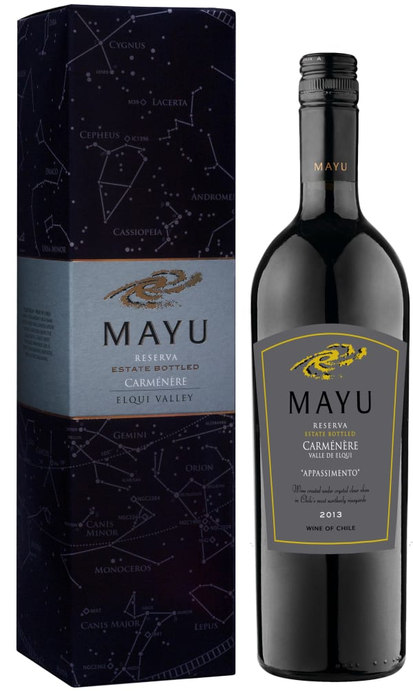 Mayu Reserva Carménère 2015 presentförpackning