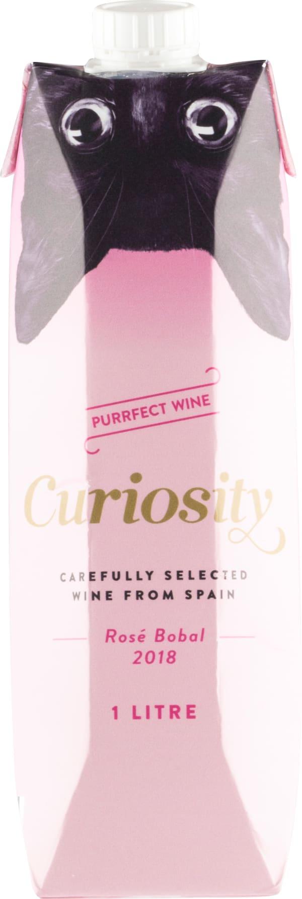 Curiosity Rosé Bobal 2018 kartongförpackning