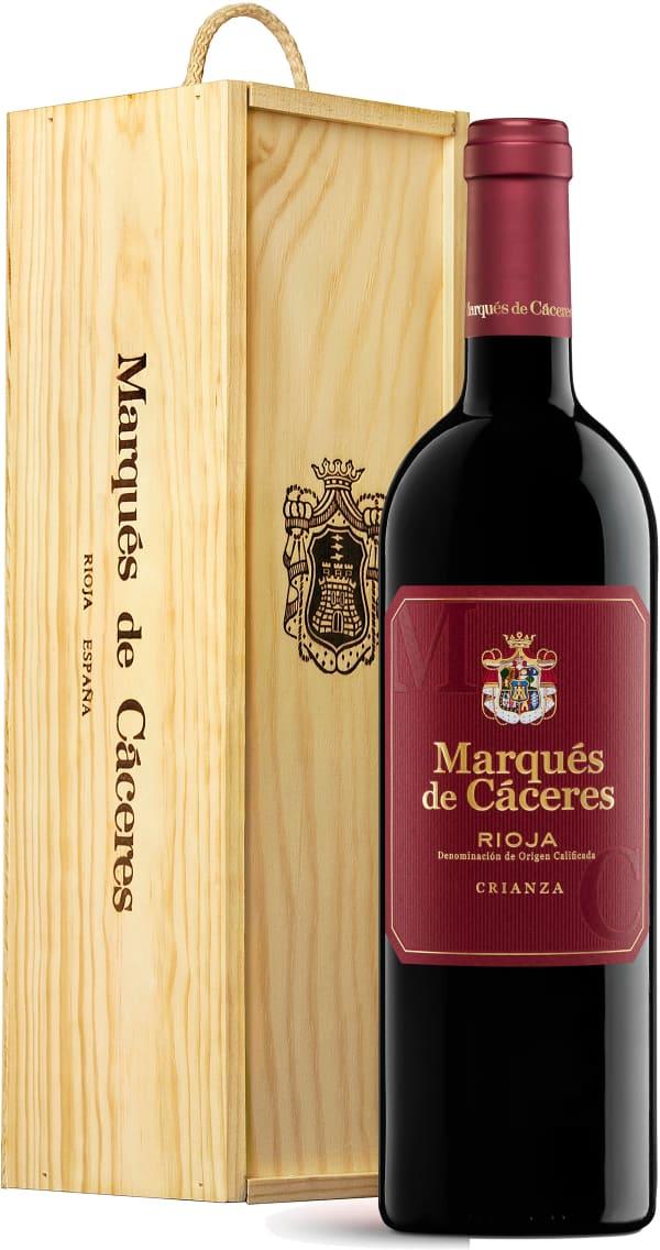 Marqués de Cáceres Crianza 2015 gift packaging
