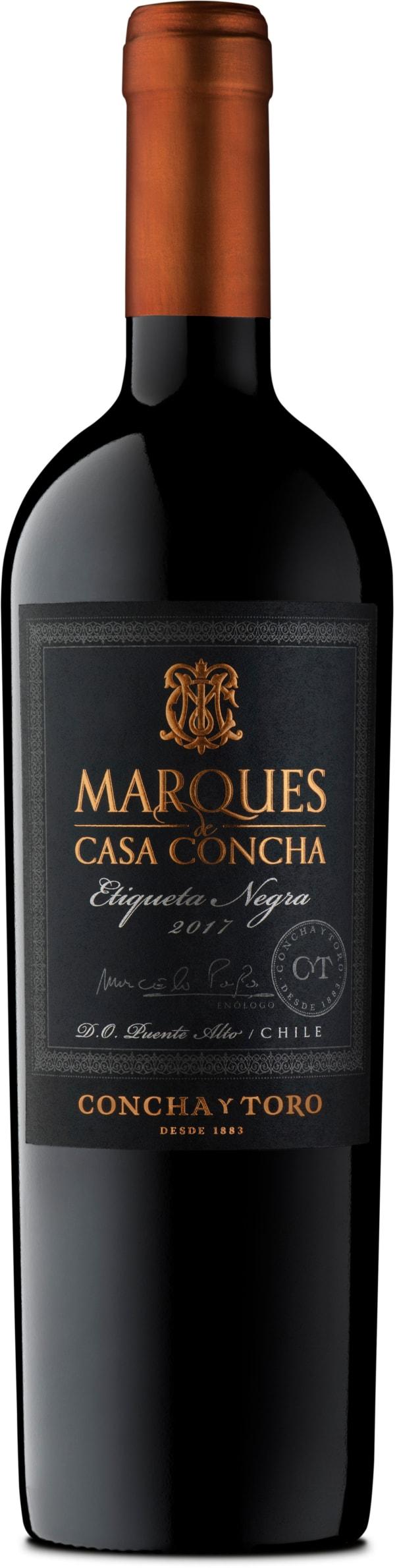 Marques de Casa Concha Etiqueta Negra 2017