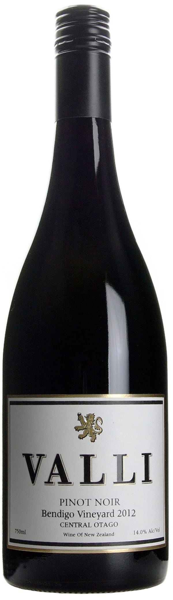 Valli Bendigo Vineyard Pinot Noir 2012