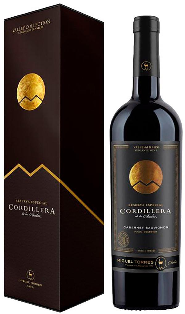 Torres Cordillera Cabernet Sauvignon 2016 gift packaging