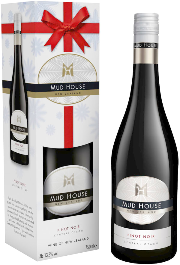 Mud House Central Otago Pinot Noir 2018 gift packaging