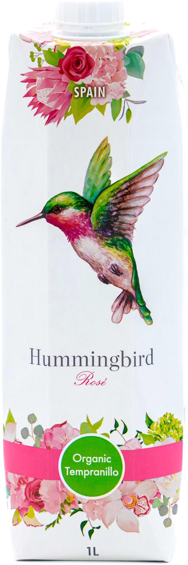 Hummingbird Organic Tempranillo Rosé 2019 carton package