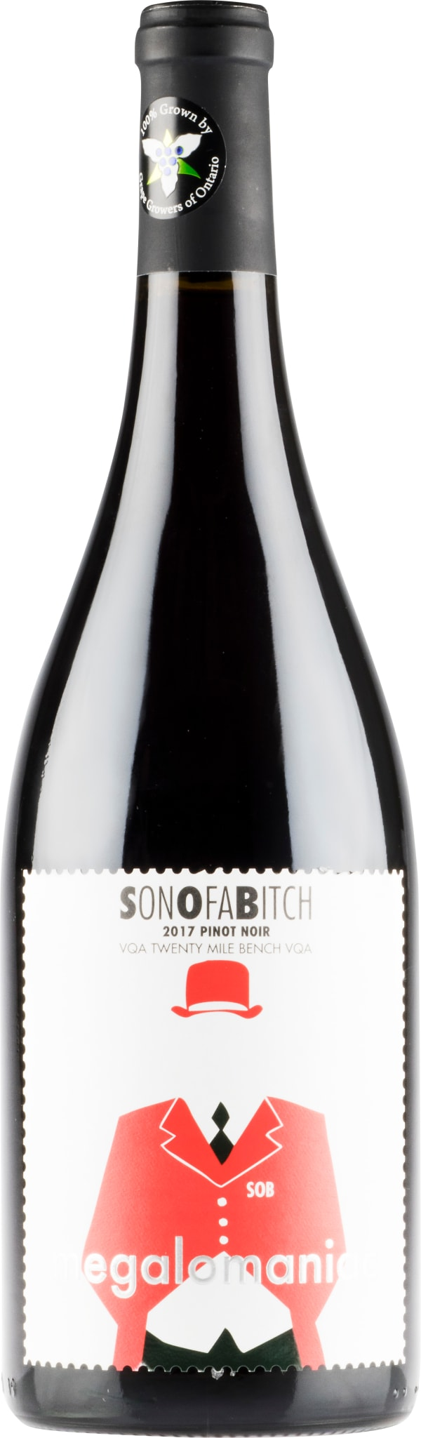 Megalomaniac Sonofabitch Pinot Noir 2017