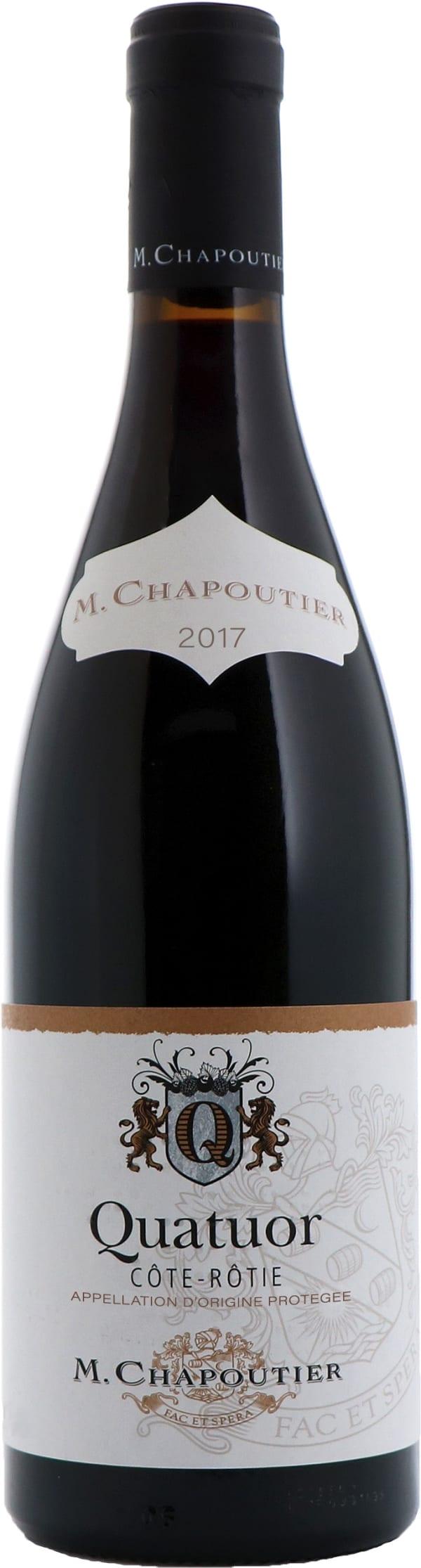 M. Chapoutier Côte-Rôtie Quatuor 2017