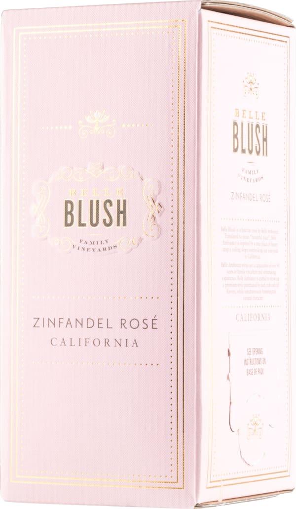 Belle Blush Zinfandel Rosé 2017 hanapakkaus