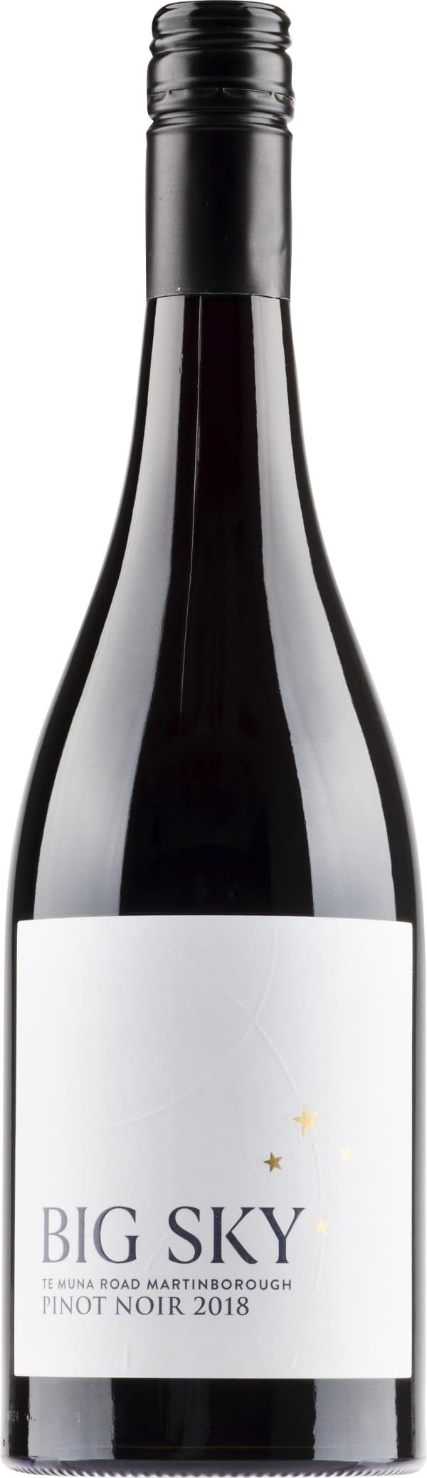 Big Sky Te Muna Road Pinot Noir 2019