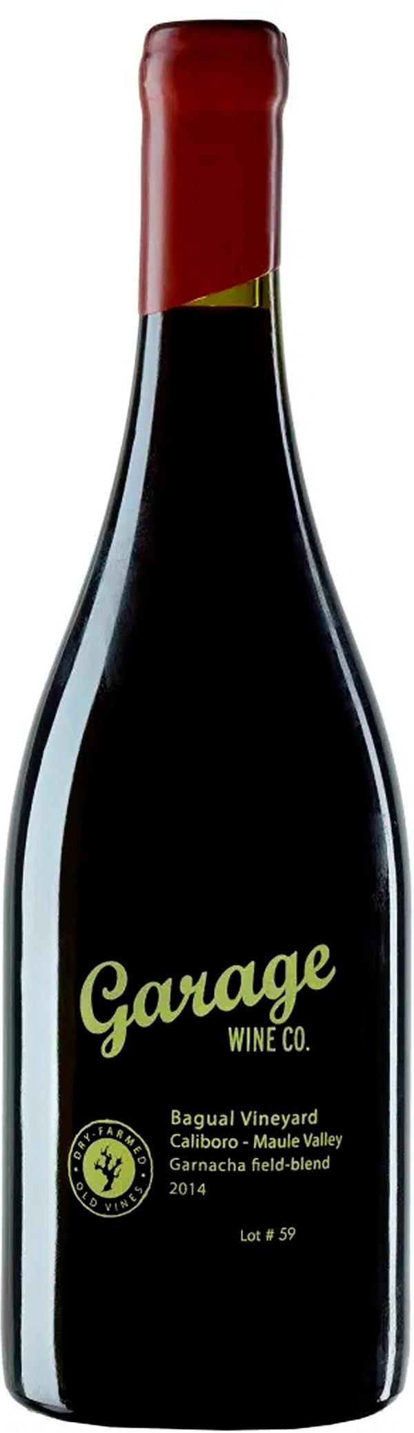 Garage Wine Co. Bagual Vineyard Garnacha Field Blend 2014