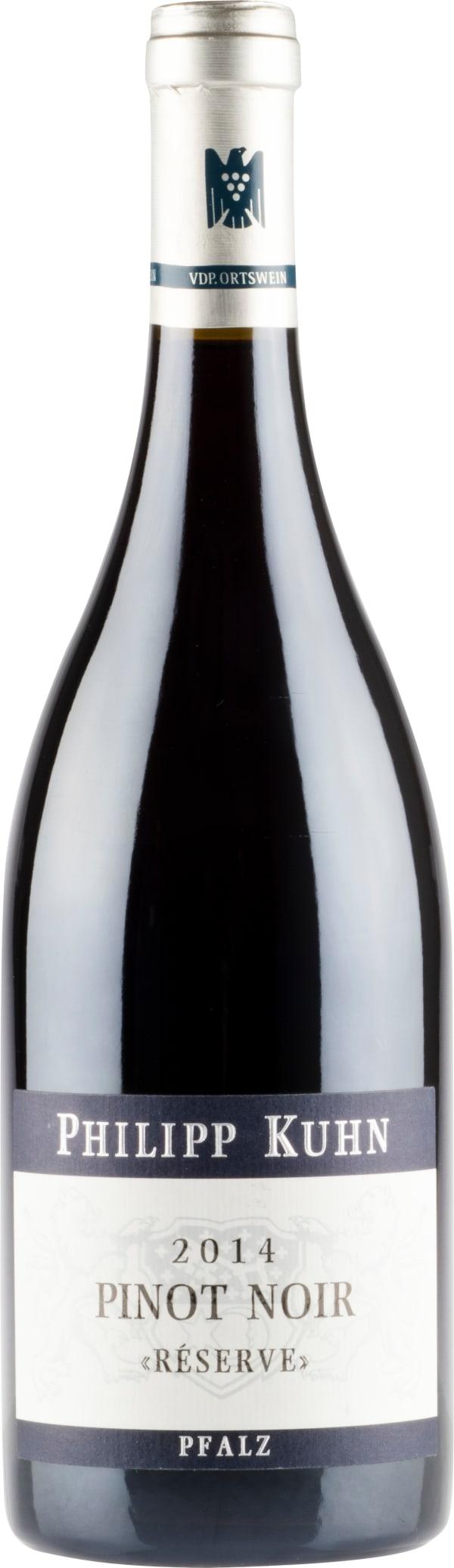 Philipp Kuhn Pinot Noir Laumersheimer Réserve 2014