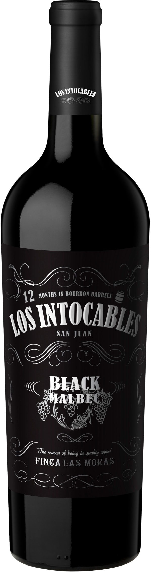 Los Intocables Black Malbec 2019