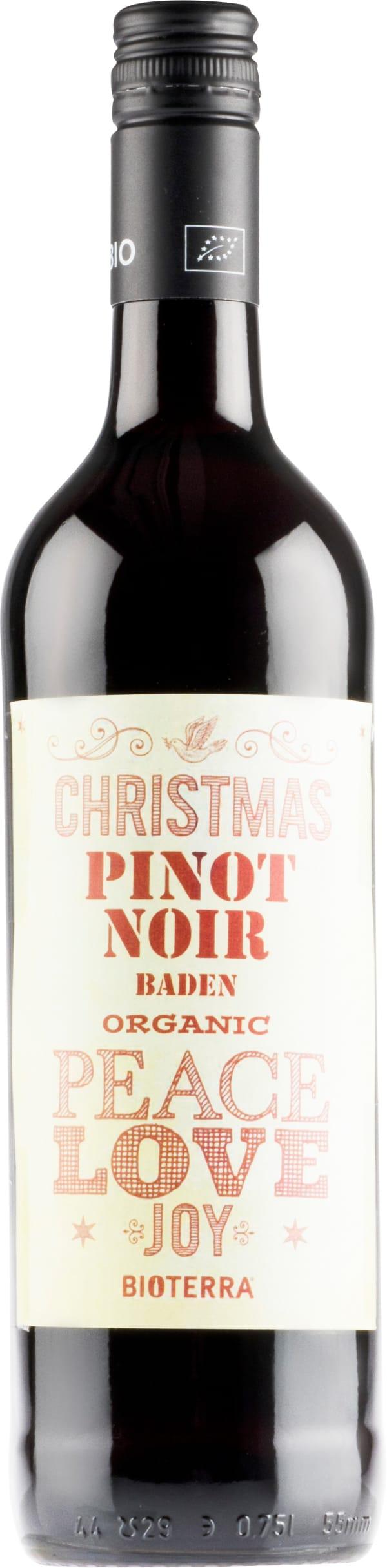 Christmas Organic Pinot Noir Peace Love Joy 2018