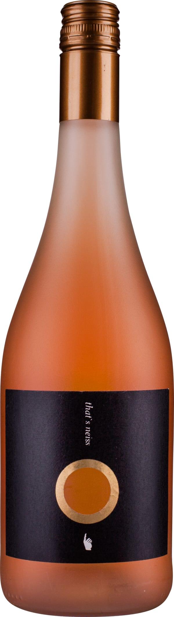 That's Neiss Pinot Noir Rosé Trocken 2016