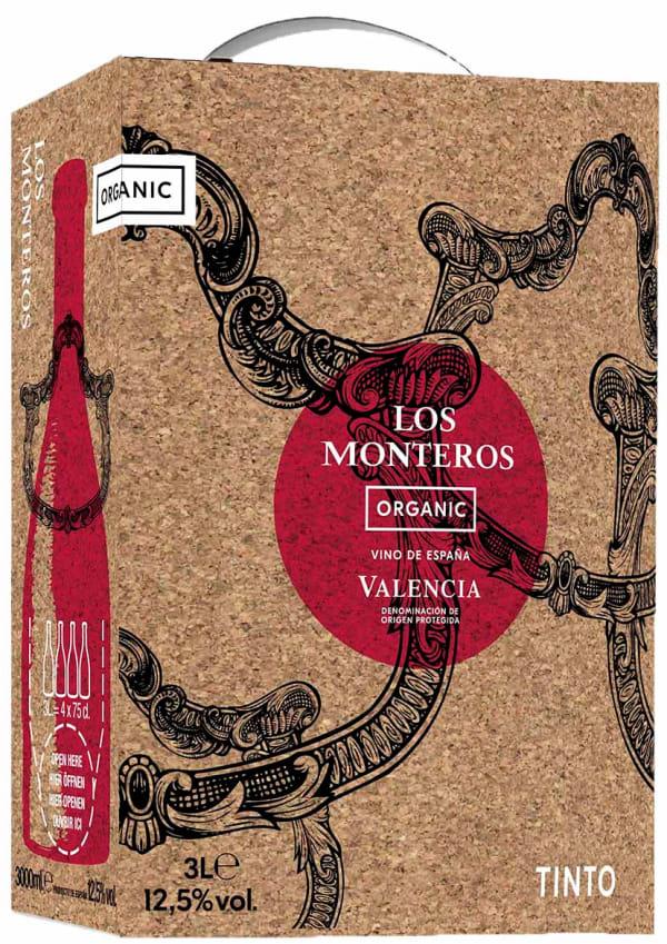 Los Monteros Tinto hanapakkaus