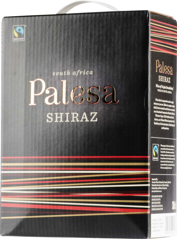Palesa Shiraz 2017 lådvin
