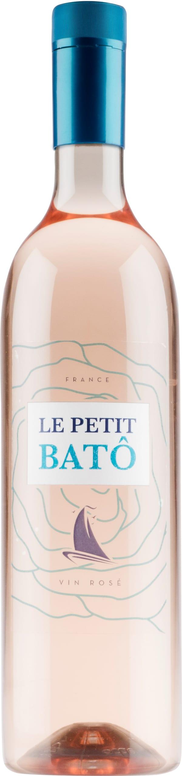 Le Petit Batô Rosé 2019 plastic bottle