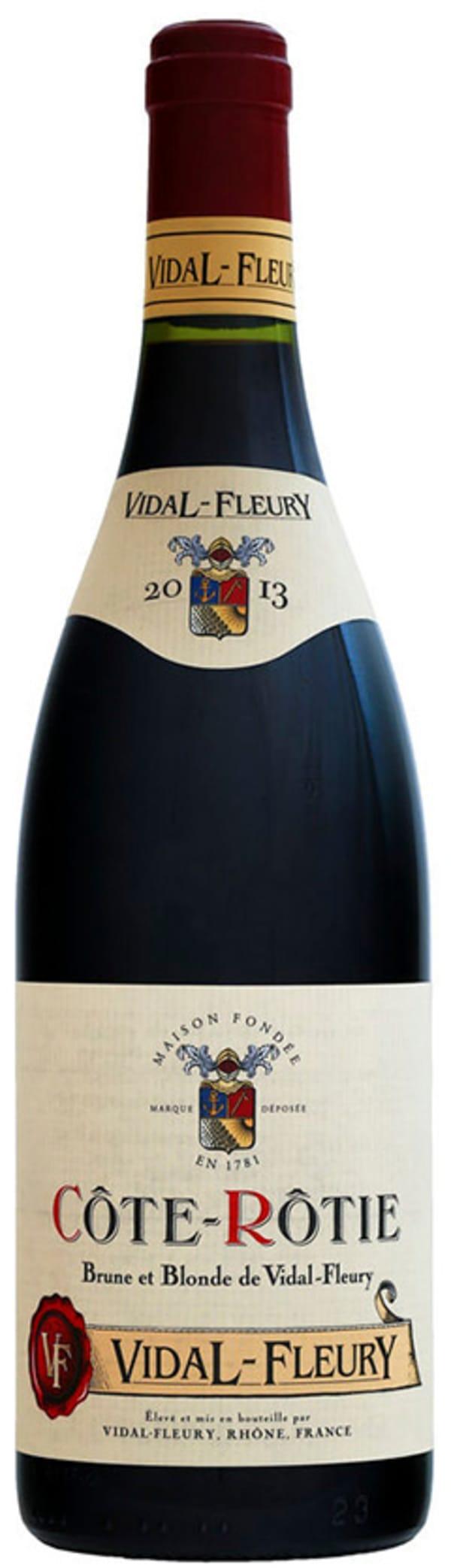 Vidal-Fleury Côte-Rôtie Brune et Blonde 2015