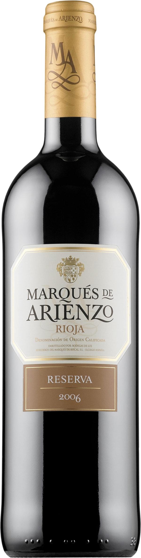 Marques de Arienzo Reserva 2012