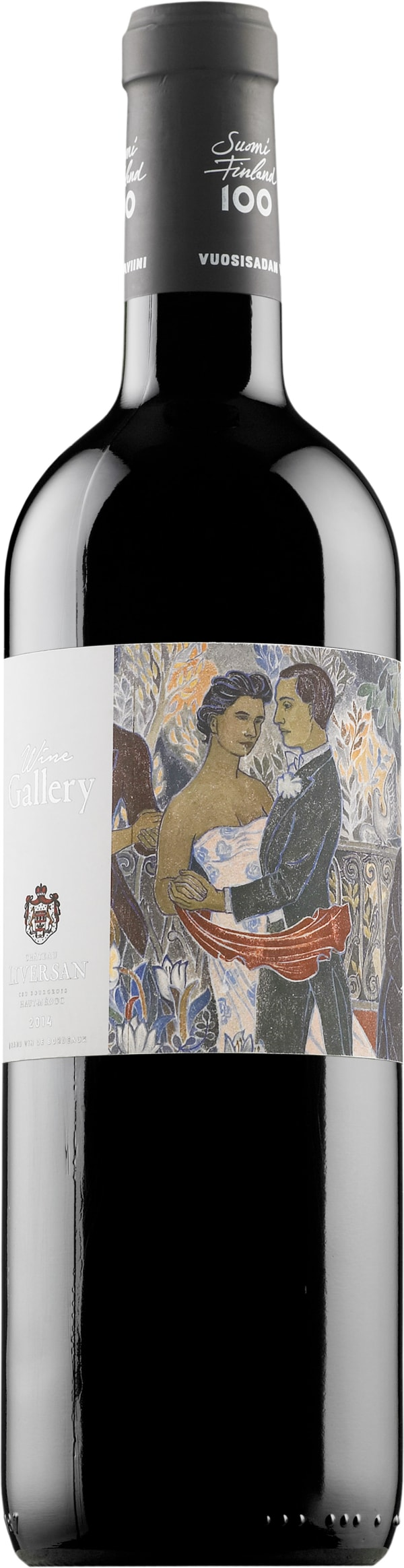 Wine Gallery Suomi Finland 100 Bordeaux Rouge 2014