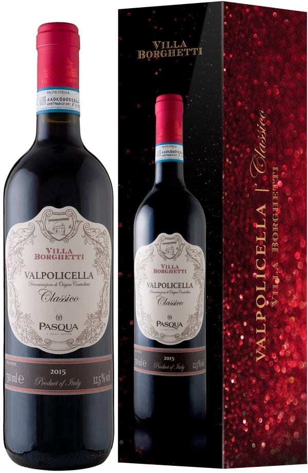 Pasqua Villa Borghetti Valpolicella Classico 2018 gift packaging