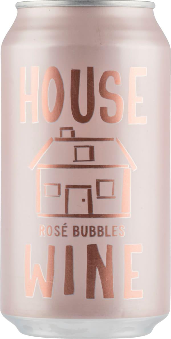 House Wine Rose Bubbles burk