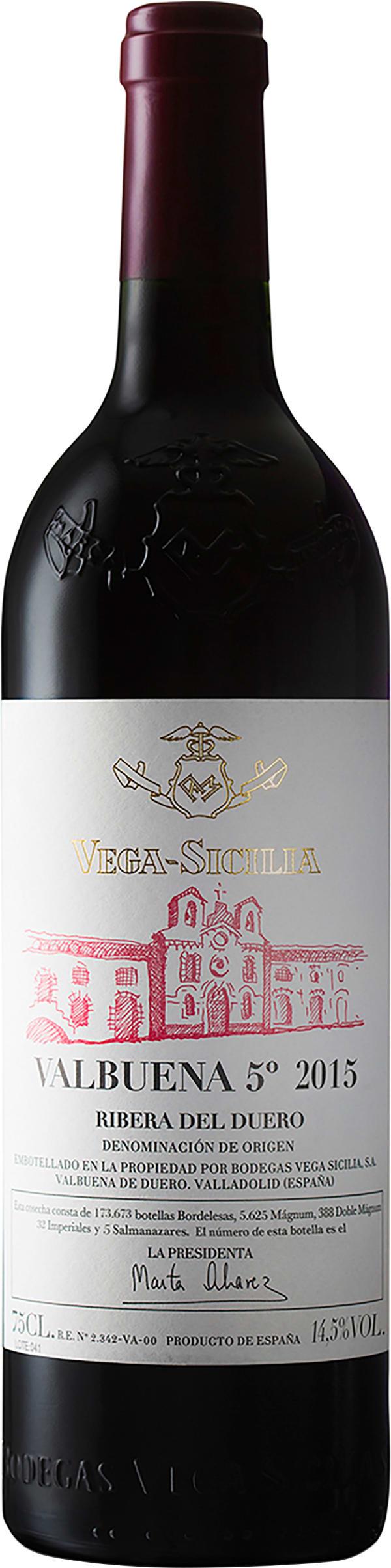Vega-Sicilia Valbuena 5° 2015