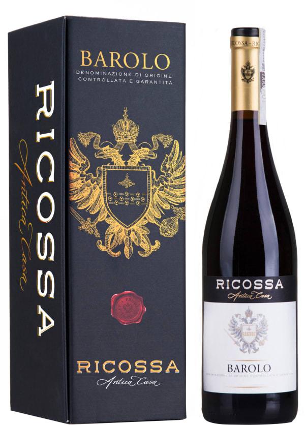 Ricossa Barolo 2014 presentförpackning