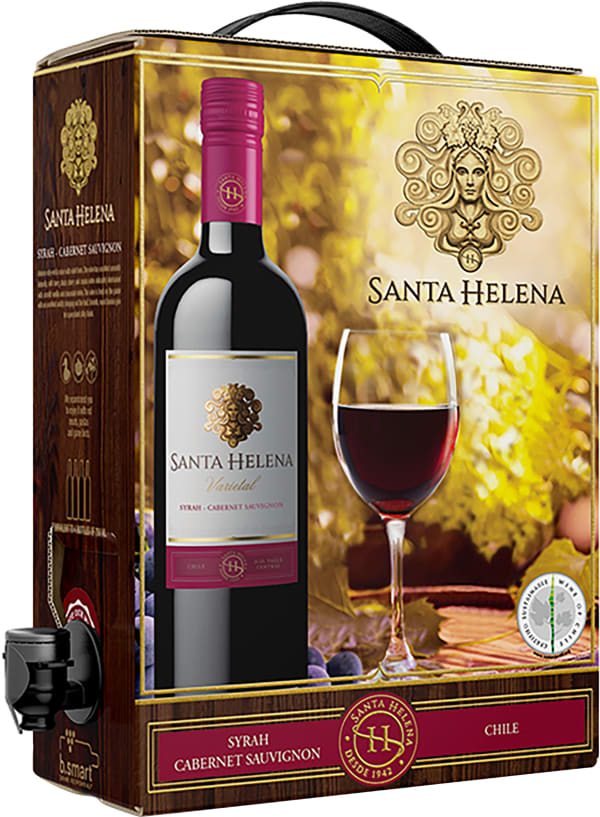 Santa Helena Syrah Cabernet Sauvignon 2018 lådvin