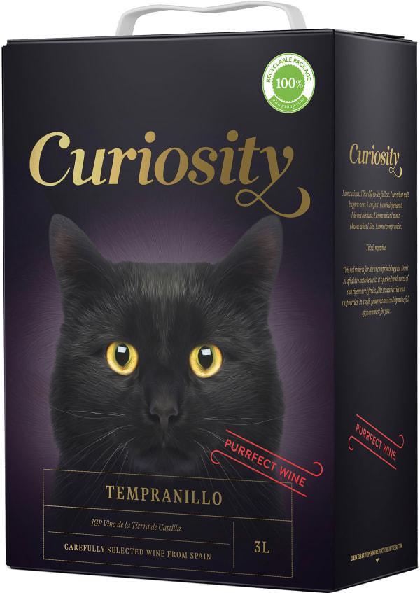 Curiosity Tempranillo 2018 hanapakkaus