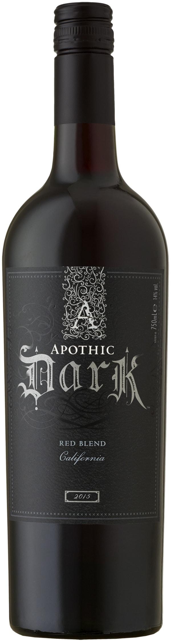 Apothic Dark 2017