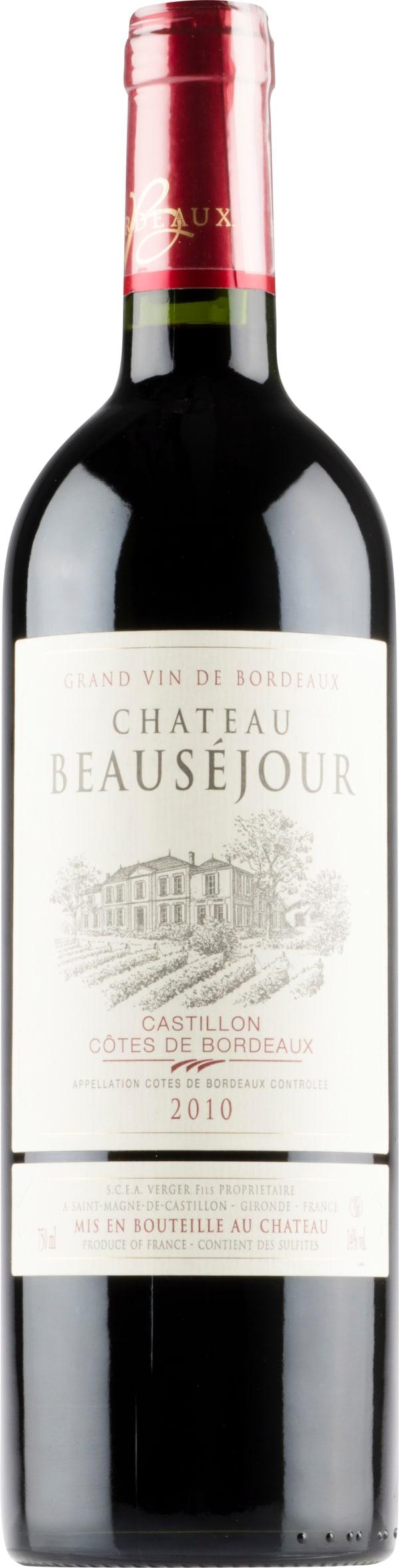 Château Beauséjour 2010