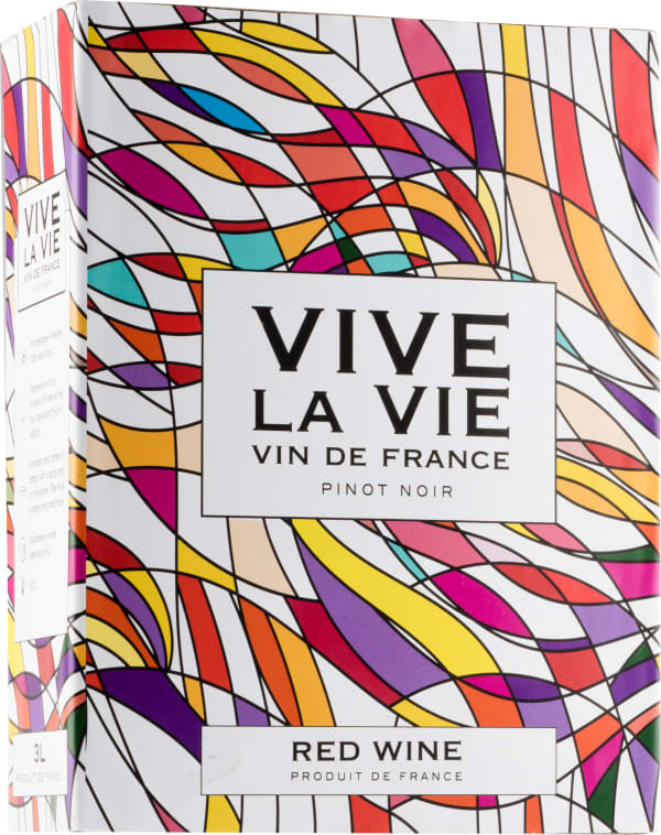 Vive la Vie Pinot Noir hanapakkaus