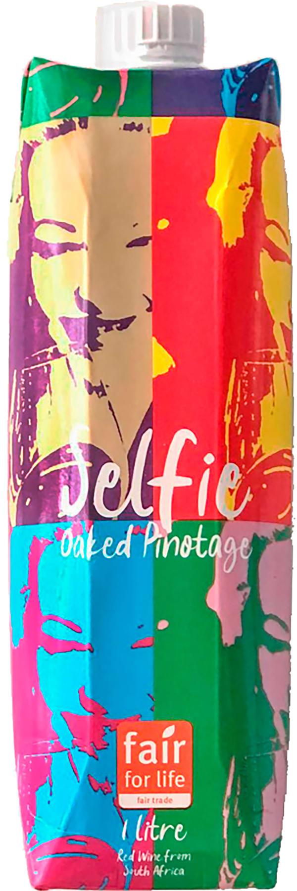 Selfie Oaked Pinotage 2020 kartongförpackning