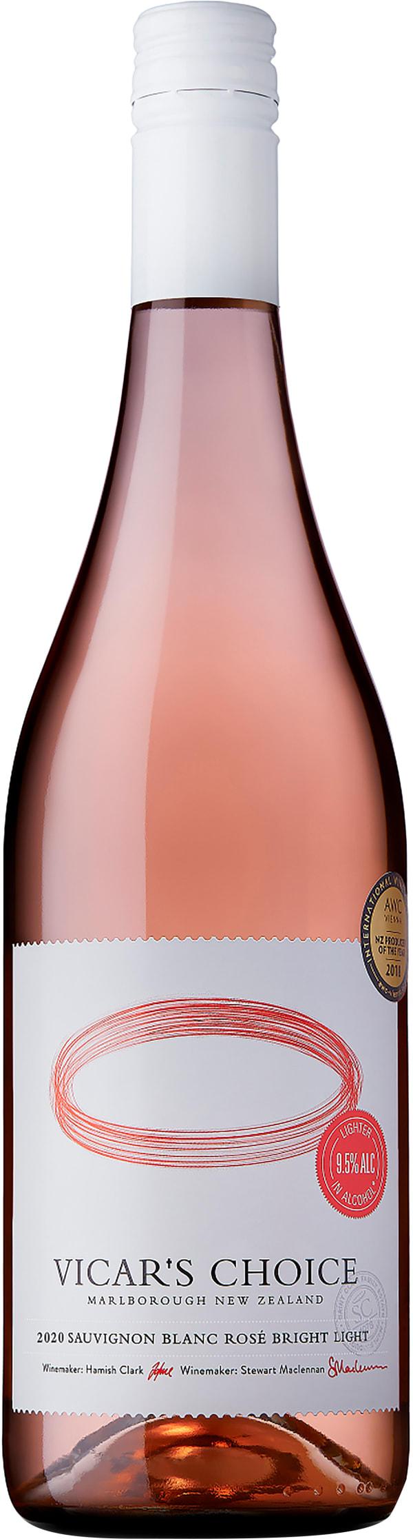 Saint Clair Vicar's Choice Sauvignon Blanc Rosé Bright Light 2020