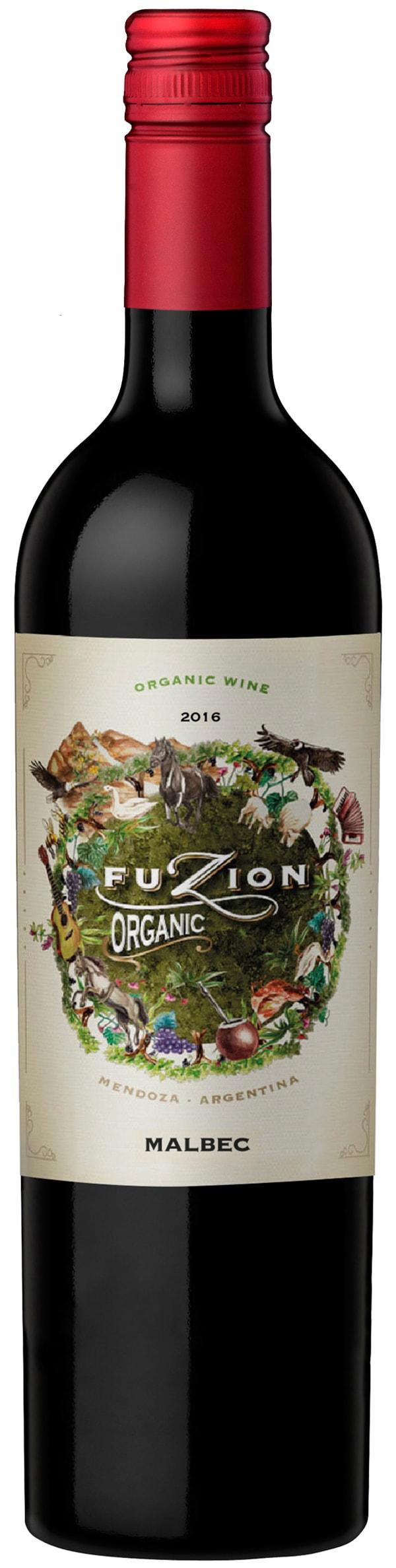 Fuzion Organic Malbec 2017