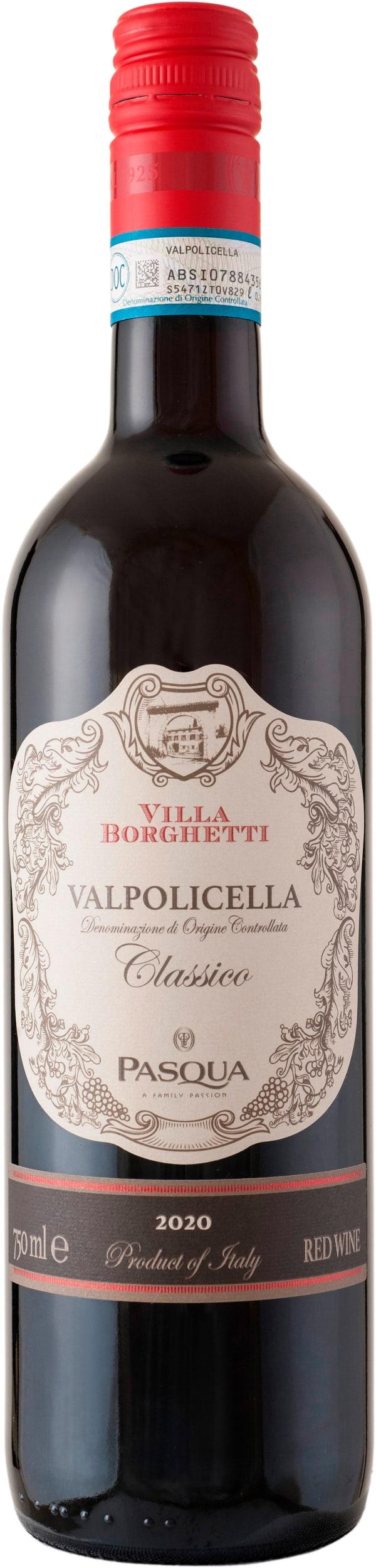 Pasqua Villa Borghetti Valpolicella Classico 2019 presentförpackning