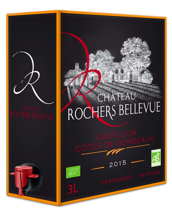 Château Rochers Bellevue 2016 lådvin
