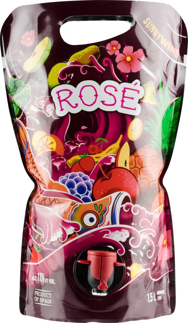Sunnywine Rosé 2018 wine pouch