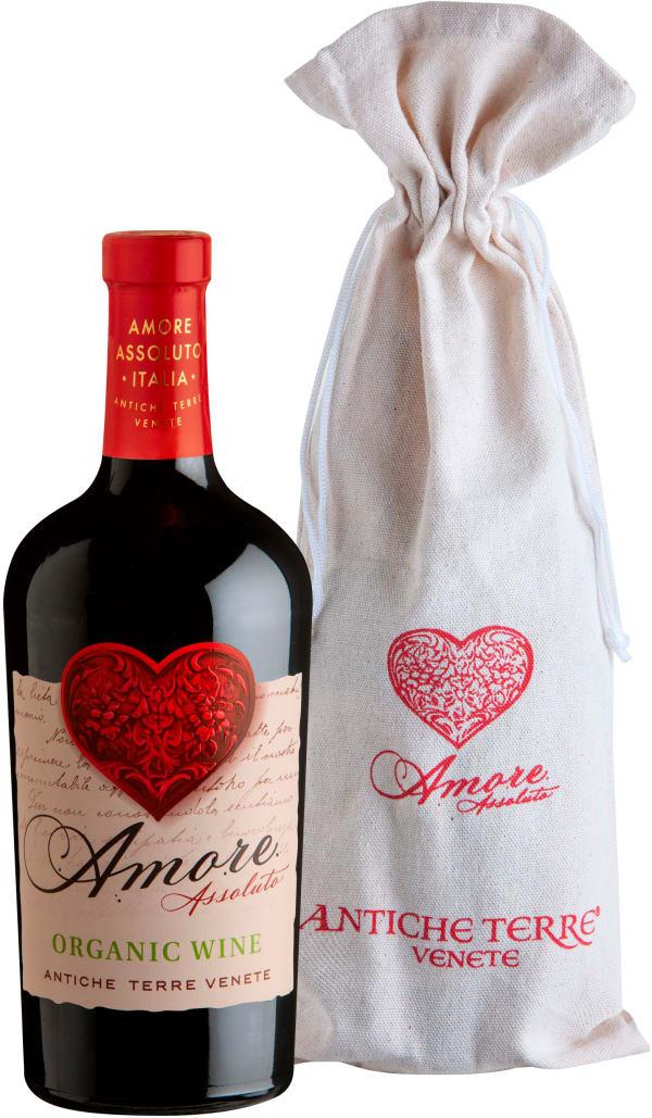 Antiche Terre Amore Assoluto Biologico 2016 presentförpackning