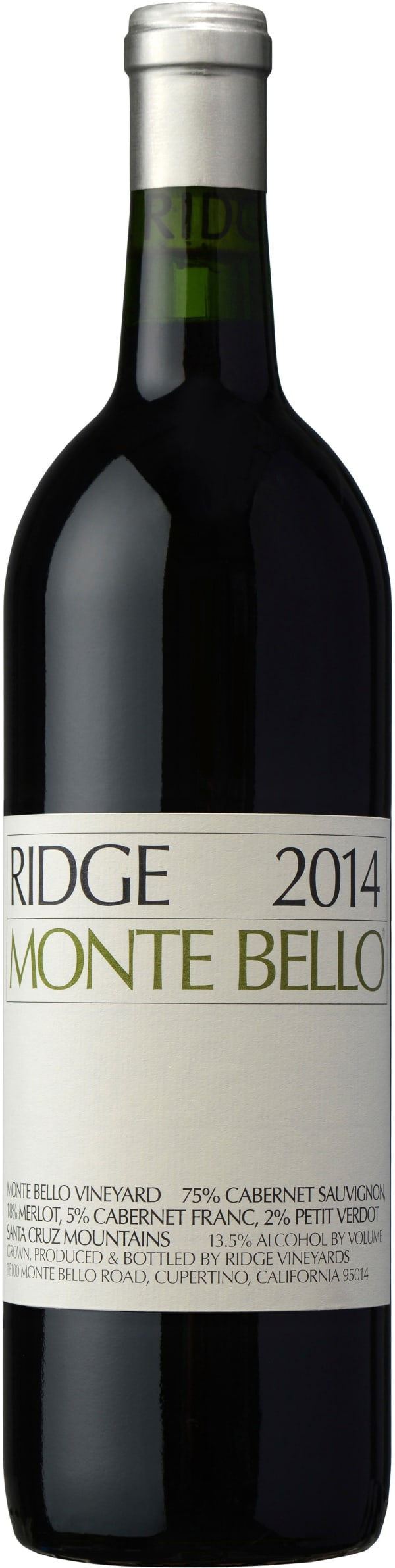 Ridge Monte Bello 2015