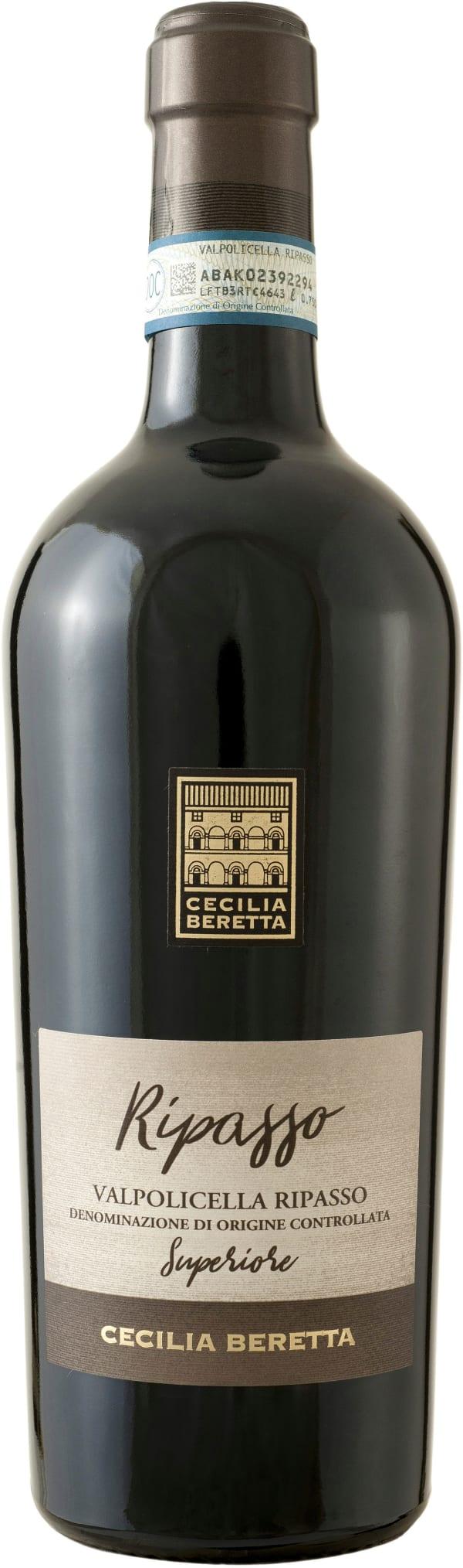 Cecilia Beretta Valpolicella Superiore Ripasso 2018 gift packaging
