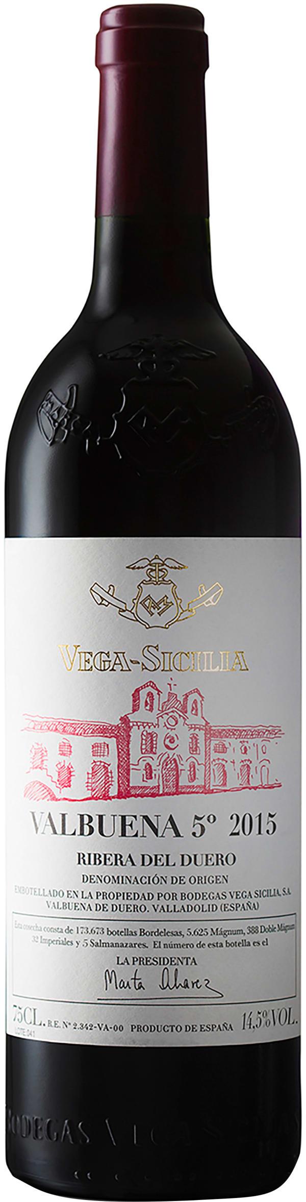 Vega-Sicilia Valbuena 5° Magnum 2015