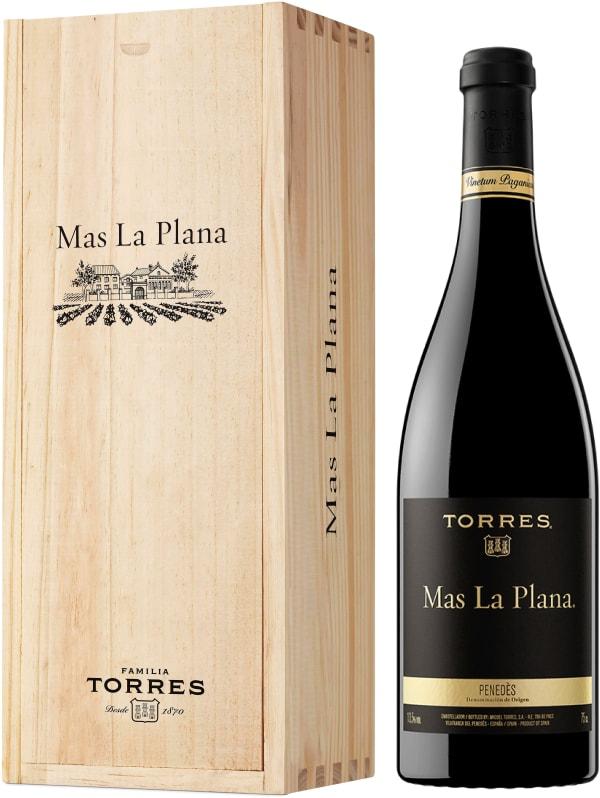 Torres Mas La Plana 2015 gift packaging