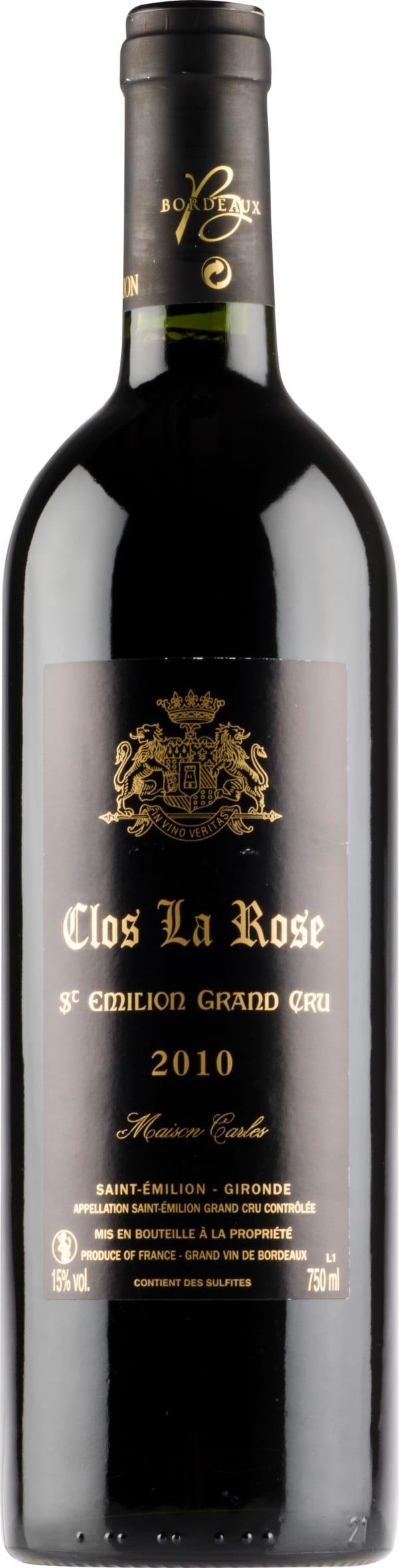 Clos La Rose 2010