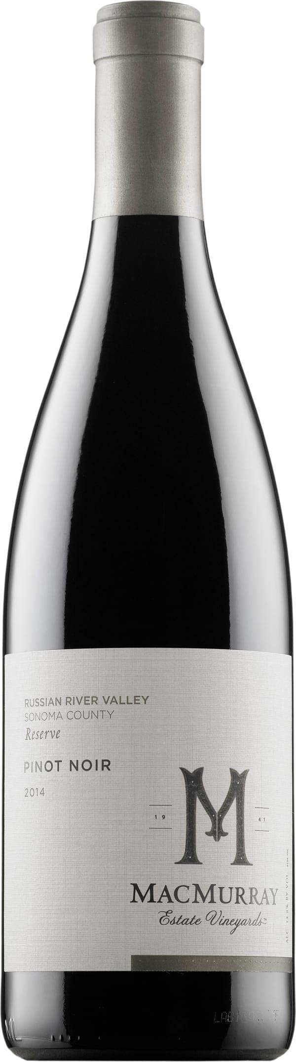 MacMurray Reserve Pinot Noir 2014