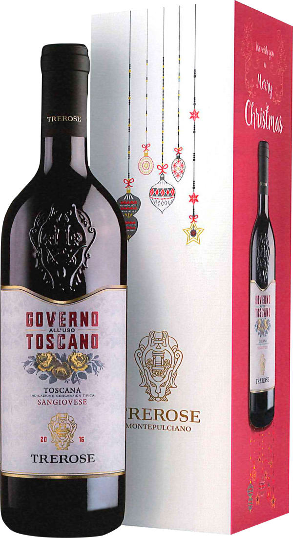Tre Rose Governo all'Uso Toscano 2018 gift packaging